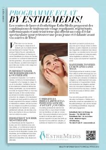 Article EstheMedis BI 75 spécial fête décembre 2013