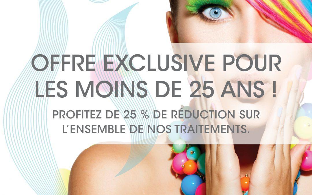 💎💥OFFRE EXCLUSIVE pour les – de 25 ANS ! 💥💎