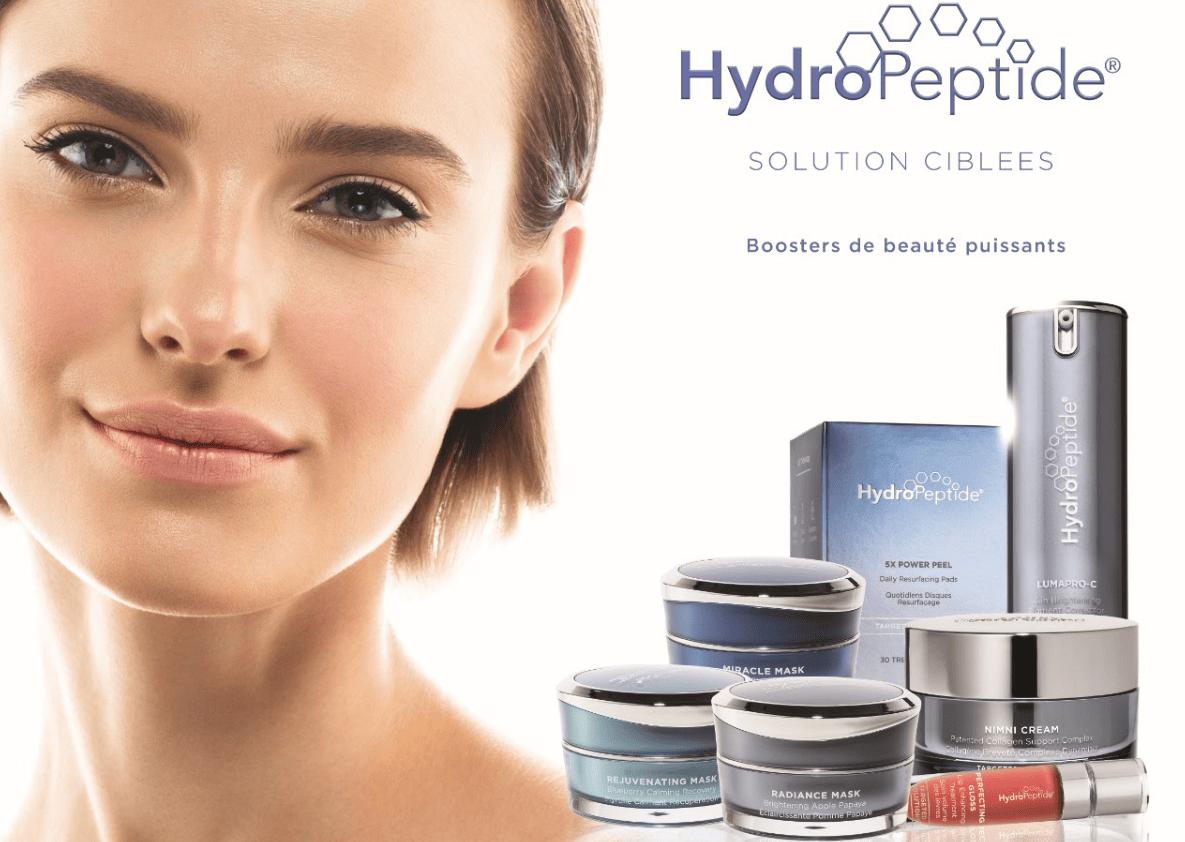 Retrouvez la marque Hydropeptide chez EstheMedis !